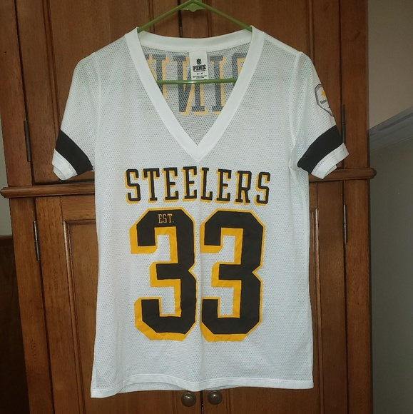 928eff988ff Victoria's Secret pink Pittsburgh Steelers Jersey. PINK Victoria's Secret.  M_5caa6cc916105d580bcb9e04. M_5caa6cd77f617fb04847bccc